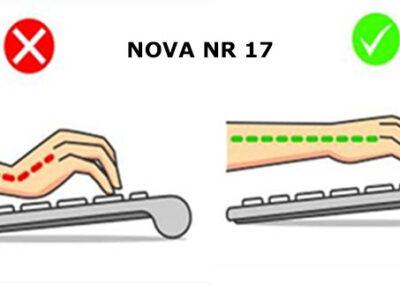 Norma regulamentadora NR17 atualizada Avaliação de riscos ergonômicos2