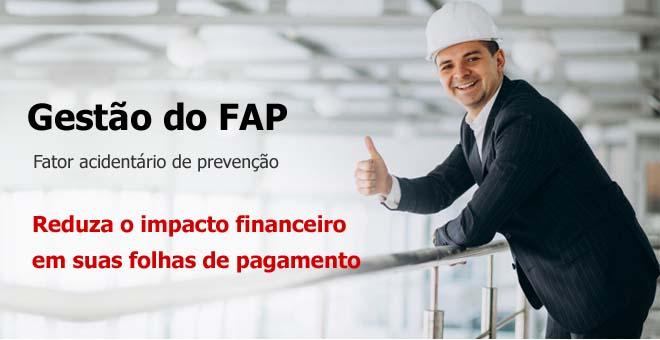 Gestão do FAP Fator acidentário de prevenção